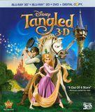 Tangled [4 Discs] [Includes Digital Copy] [3D] [Blu-ray/DVD] [Blu-ray/Blu-ray 3D/DVD] [Eng/Fre/Spa] [2010]