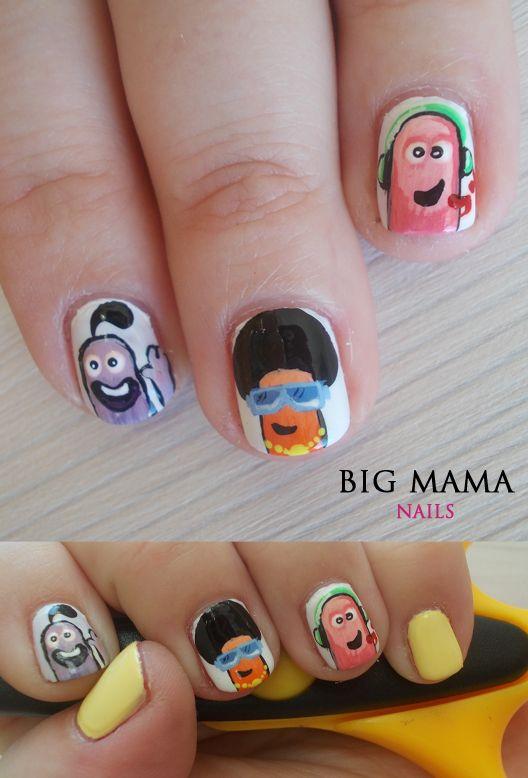 discorobaczki :)   #nail #nails #nailart #paznokcie