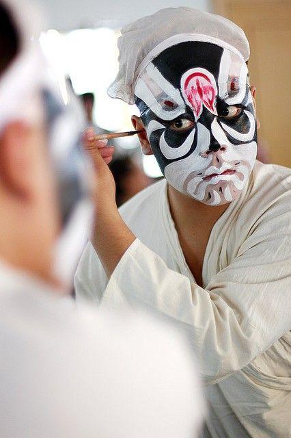 Beijing Opera make up -Isaiah Soliz