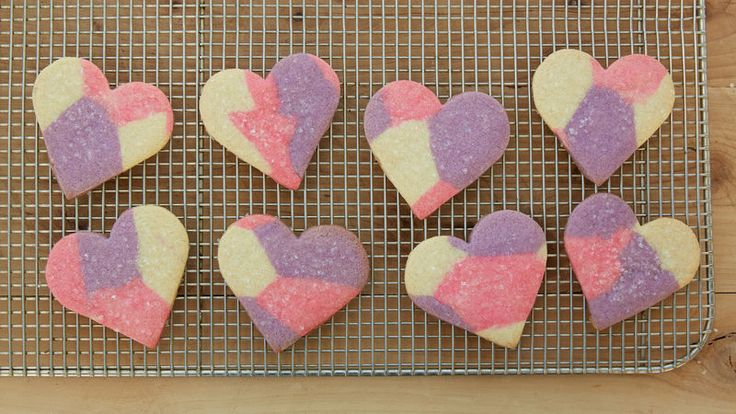 Bake some Valentine's Day memories with swirly sweet sugar cookies. Easy to make, and fun to gift!