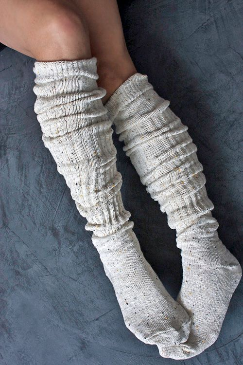 Do you wear high top boots? These boot socks look so snuggly I think I would just wear them around the house in the winter - no boots needed.