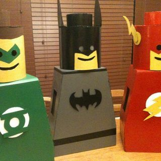 Lego Man Costume for kids - step by step instructions