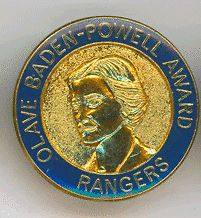Girl Guides/Scouts Canada Ranger Lady B-P award badge | eBay