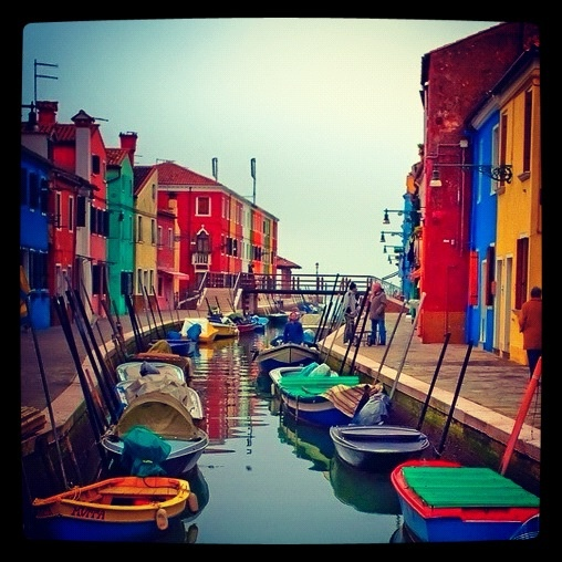 Burano, Italy! One of my favorite places in Venice!