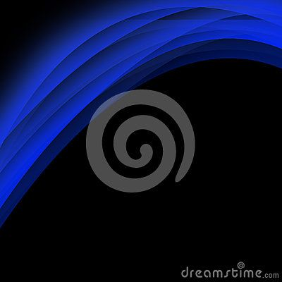 Blue color dynamic lines modern abstract business background