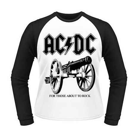 Tricou maneca lunga AC/DC: For Those About to Rock