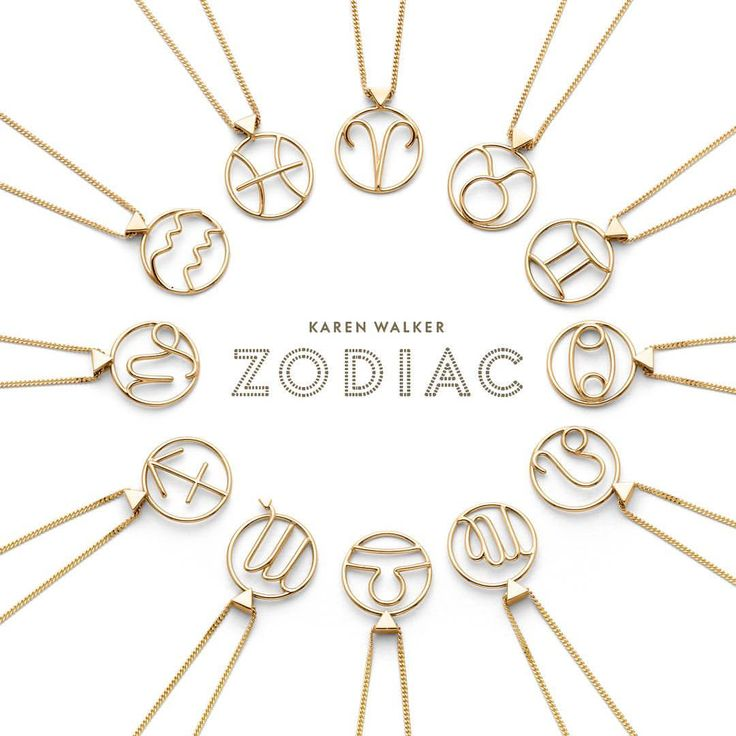 """29 Likes, 6 Comments - Cameron Jewellery (@cameronjewellery) on Instagram: """"NEW // ZODIAC by Karen Walker ✨in-store & online now"""""""