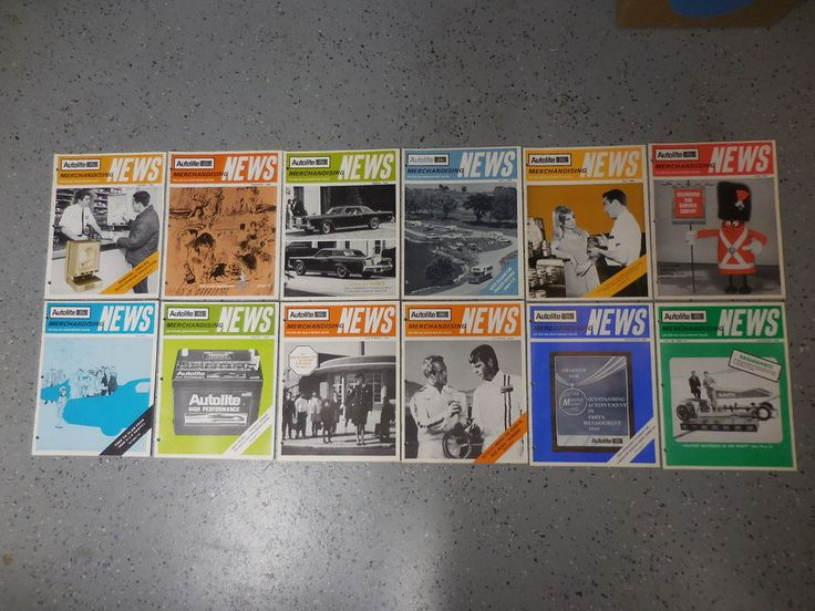 1968-69 Ford Lincoln Mercury Complete Year Dealer Merchandising Magazines 12 Pcs #Autolite
