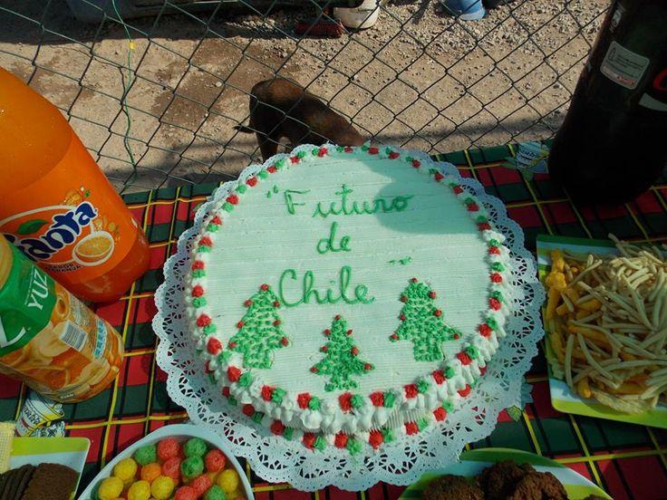 Nuestra torta!