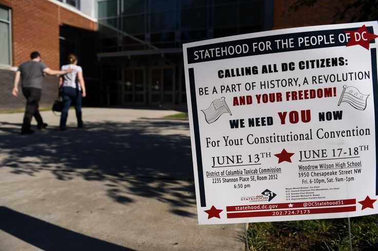 Activists demanded a convention to give residents a voice in shaping the 51st state.