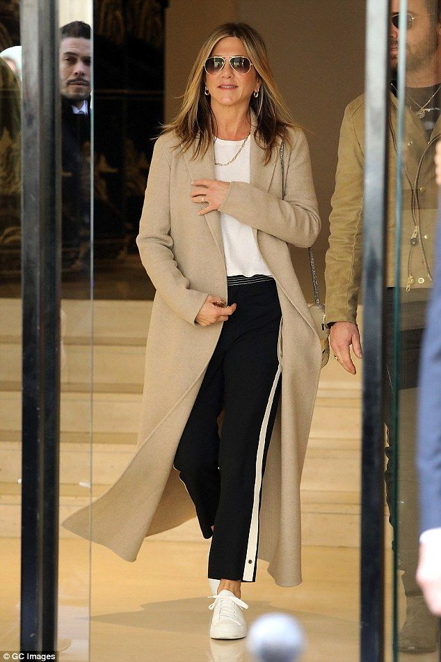 Work up a sweat in these Chloe trousers like Jen #DailyMail