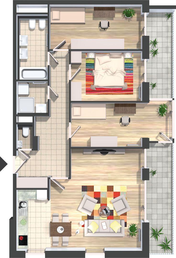 Pannónia Ház - Otthonok