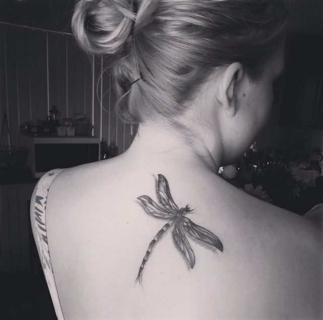 Last Days Tattoo, Ocean Beach California. #tattoo #dragonfly
