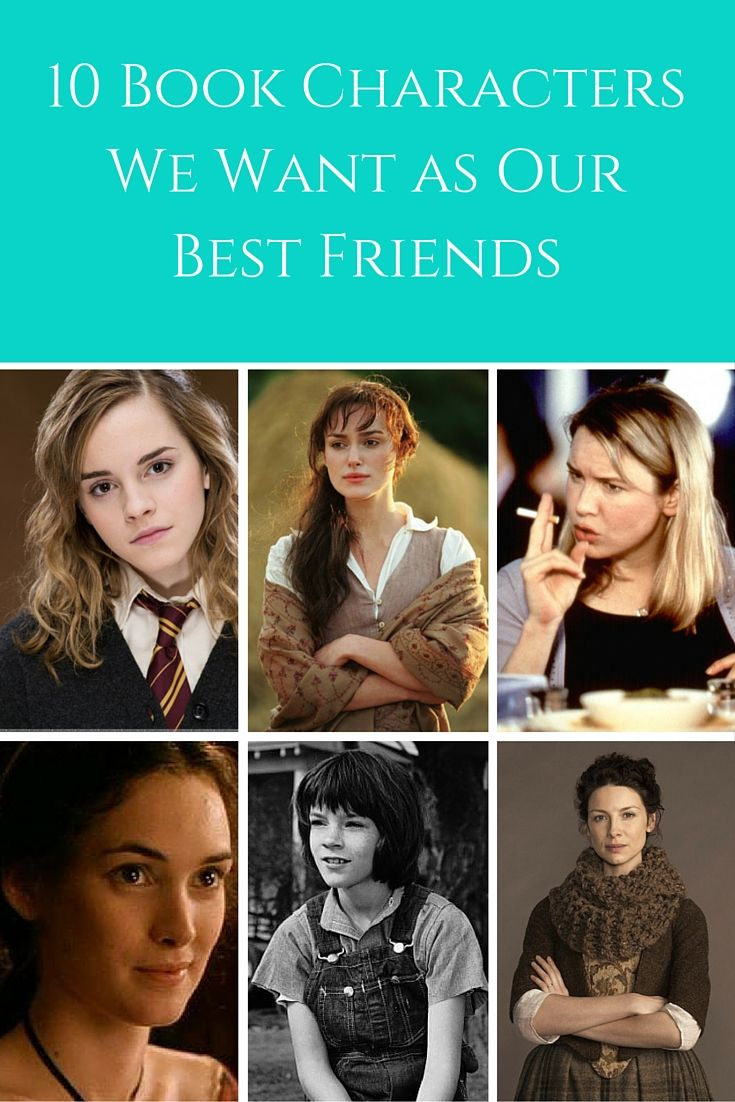 10 Book Characters We Want as Our Best Friends