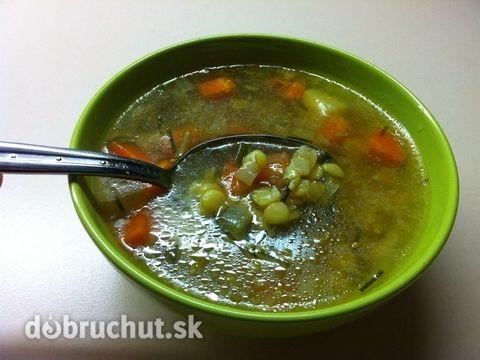 Fotorecept: Hŕstková polievka