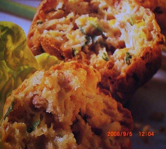 Lauch-Mais-Muffins (mit Siegfried-Teig)