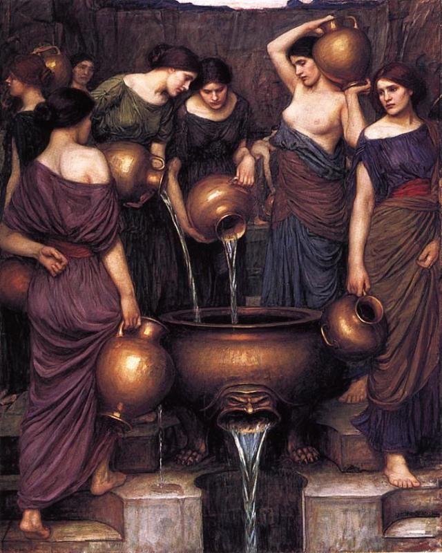 John William Waterhouse - The Danaides