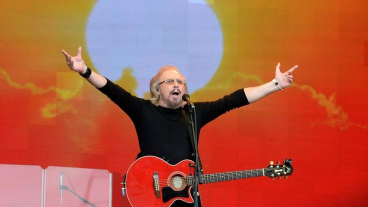 Image copyright                  PA             Image caption                                      Barry Gibb put a picture of his brothers on stage as he performed, eliciting a huge cheer                               We're calling it: Islands In The Stream has become... - #Barry, #Brings, #Feet, #Gibb, #Glastonbury, #World_News
