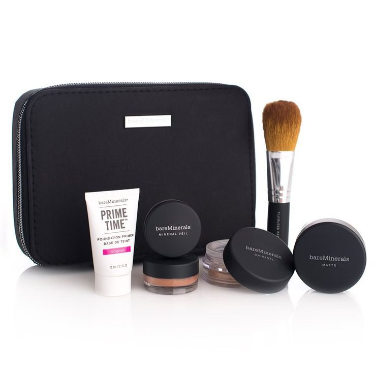 BareMinerals - Get Started Complexion Kit 7 Delar - Fairly Light
