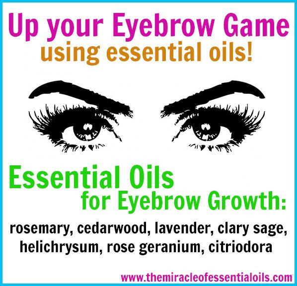 Not everyone is born with perfect eyebrows! But there's a secret that can help you greatly improve your eyebrows naturally! ESSENTIAL OILS! Use essential oils to speed up your eyebrow hair growth, make your eyebrows thicker and fuller, and prevent further eyebrow hair loss!