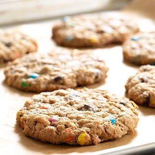 Gluten Free Chocolate Chip Monster Cookies