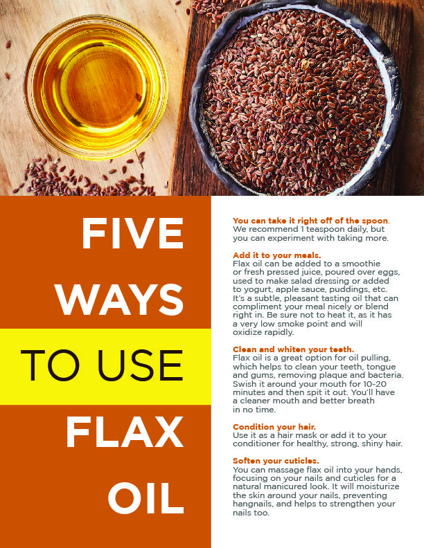 The Top 10 Benefits of Flax LIST   Flax Oil   Flaxseed ...