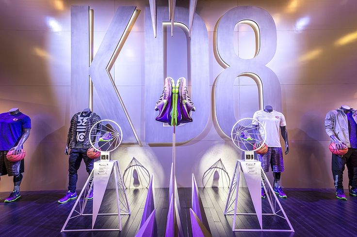 Nike KD8 retail display | built by ACME Scenic & Display