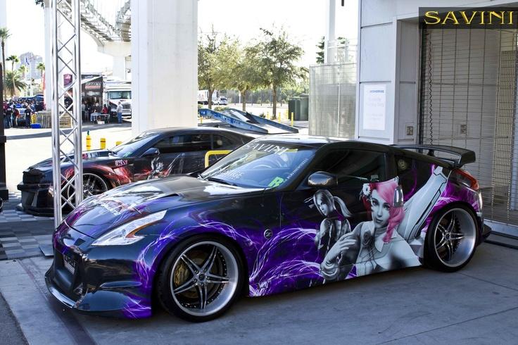Custom Car Paint Wrap Anime
