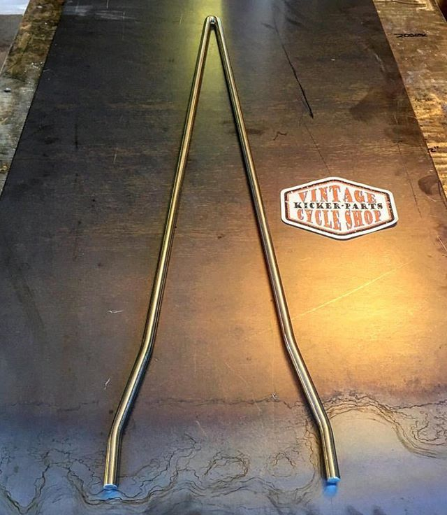 FOR SALE: made to order-Softail Sissy Bars for Evo's, Sportsters, Ironheads etc. Install with your stock mounts. Polished or Raw. $75-$100. DM or (928) 899-9780. #kickerparts #sissybarsrule #thechopmeet #chopperswapper #chopperparts #harleyparts #choppershit #knucklehead #panhead #shovelhead #ironhead @chopperswapper