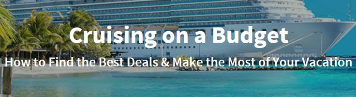 I contributed to this article on cruising on a budget and making the most of your cruise. It's the most thorough interview I've contributed to on cruises.