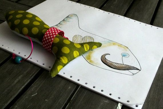 Christmas Fish PDF Pattern and Tutorial by AnkaPatkapatterns