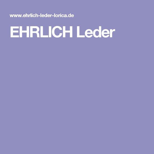 EHRLICH Leder
