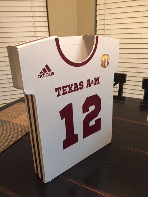 Texas A Amp M Football Uniform Valentine S Day Box Made