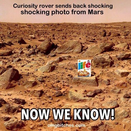 mars landing   now we know humor pinterest