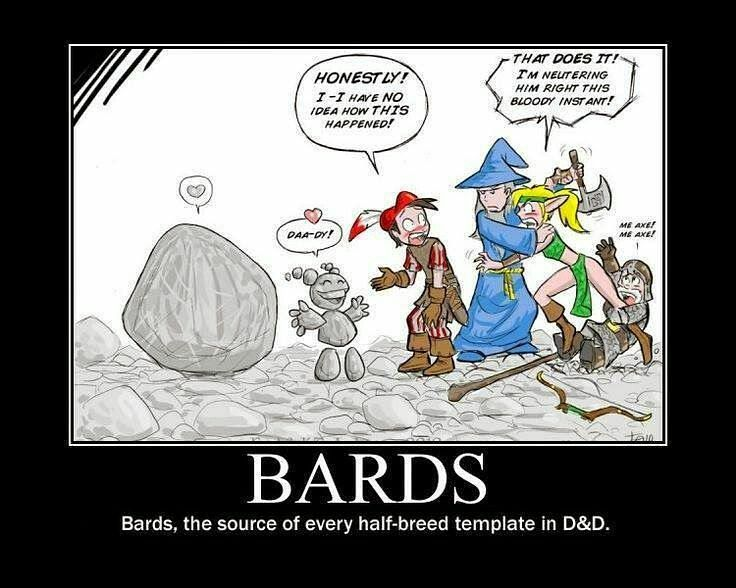 Seriously it's all that charisma. #dnd #dungeonsanddragons #rpg