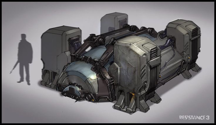 Halo 5: Guardians Concept Art by Sam Brown | Concept Art World |Conceptual Generator Drawing