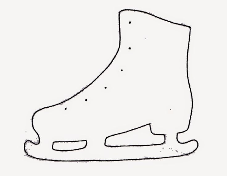KINDERGARTEN ICE SKATES TEMPLATE - Google Search