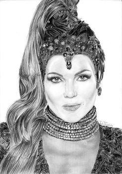 Long Live the (evil) Queen - Lana Parrilla by diejjj