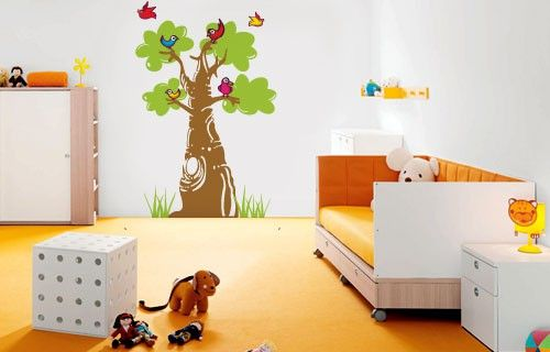 Giant Baobab vinyl wall sticker from Fantastick Wall Décor (South Africa)  #baobab #southafrica