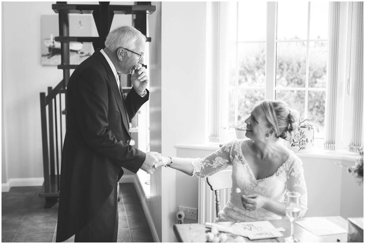 Father of the Bride First Look -Winston Sanders Photography