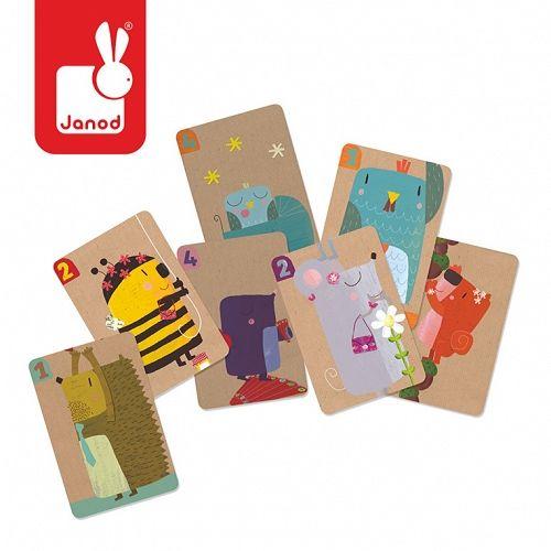 Gra karciana dla dzieci - rodzina zwierzątek - MamaGama: SPRAWDZONE i przydatne akcesoria dla mam i dzieci.