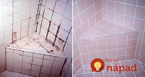 Roky zanedbanú kúpeľňu sa tejto žene podarilo vyčistiť bez drahej chémie z obchodu. Tento skvelý tip naučí aj vás! :-)