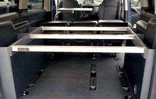 Kits de Camas Demostables Ibilkom. Accesorios y equipamientos de furgonetas camper y caravanas. Podrás en contrar desde portabicicletas de bolas a muebles y camas para furgonetas y caravanas.