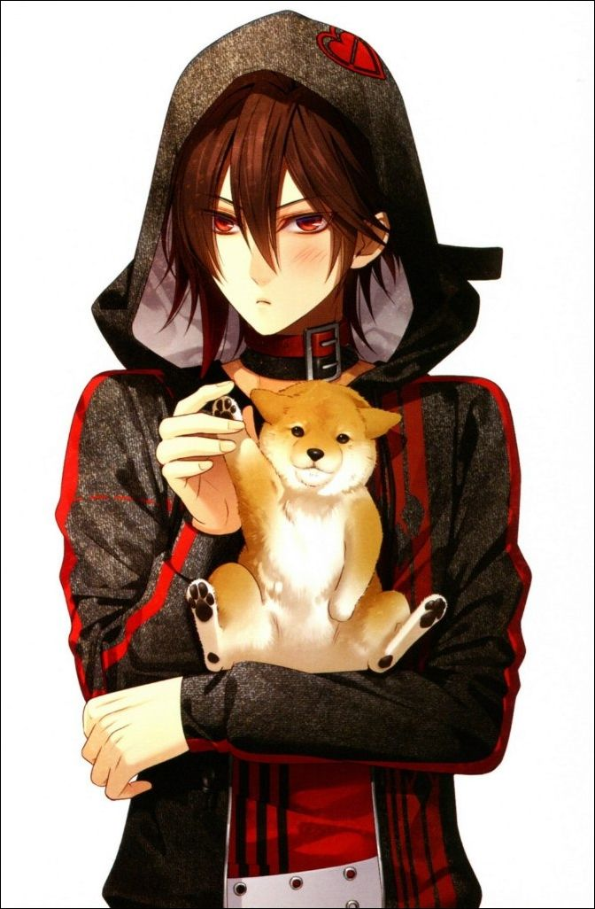He Is From An Anime Called Amnesia Btw His Name Shin