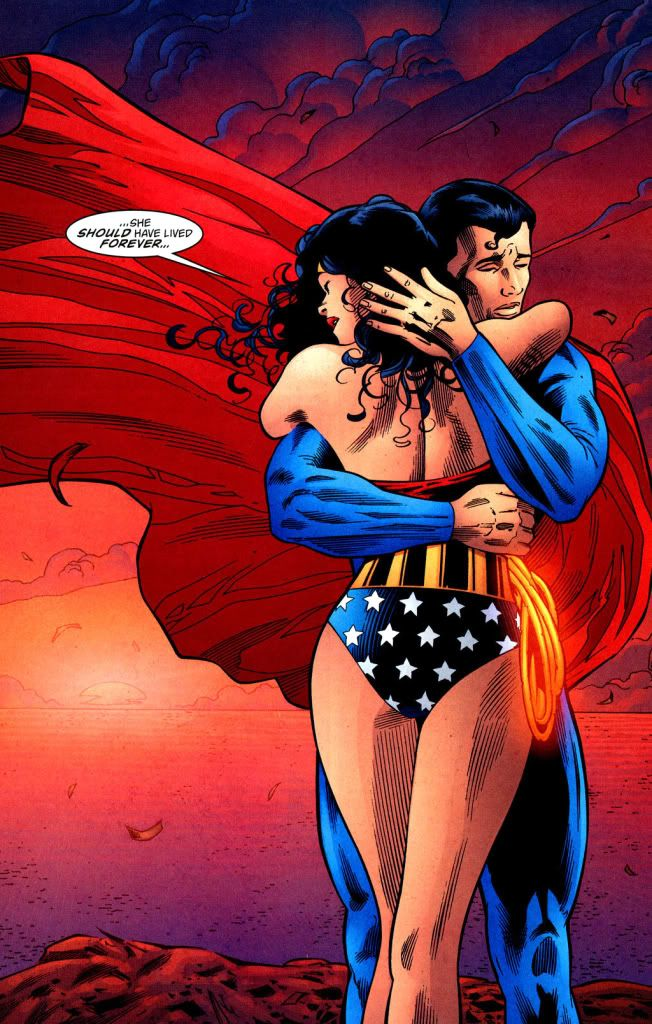 Superman Wonder Woman Romance - Bing Images-5238