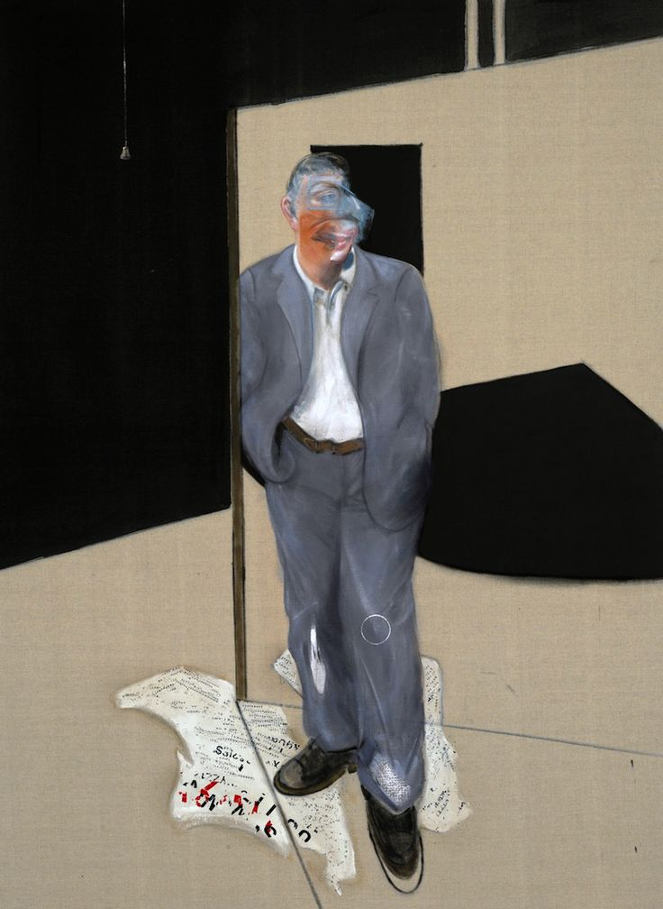 Francis Bacon - Study of a Man Talking (1981)