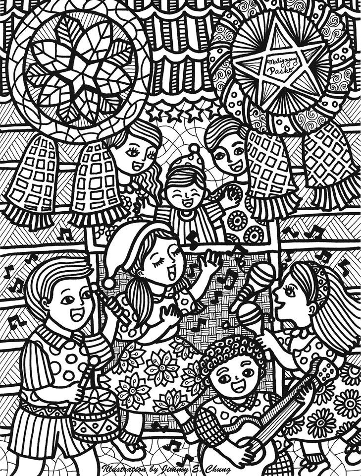 Christmas In The Philippines Illustrated By Jimmy Chung