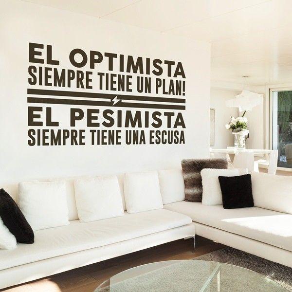 Vinilos Decorativos Textos en papelpintadoonline.com - venta online de papeles de pared pintados de las mejores marcas.