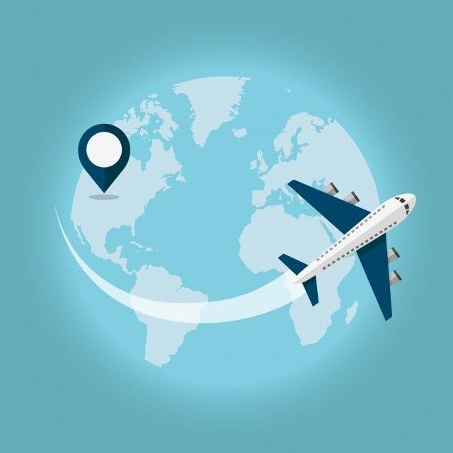 Voyager Par Avion Avion Air Les Aéronefs Png Et Vecteur Pour Téléchargement Gratuit Viajar Dibujos Ilustración Viajes Viaje Avion