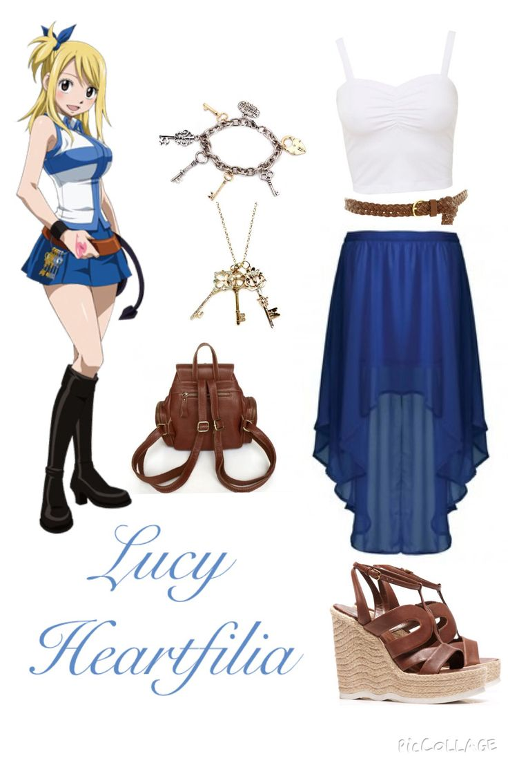 Fairy Tail Inspired Outfits ♡ Lucy Heartfilia